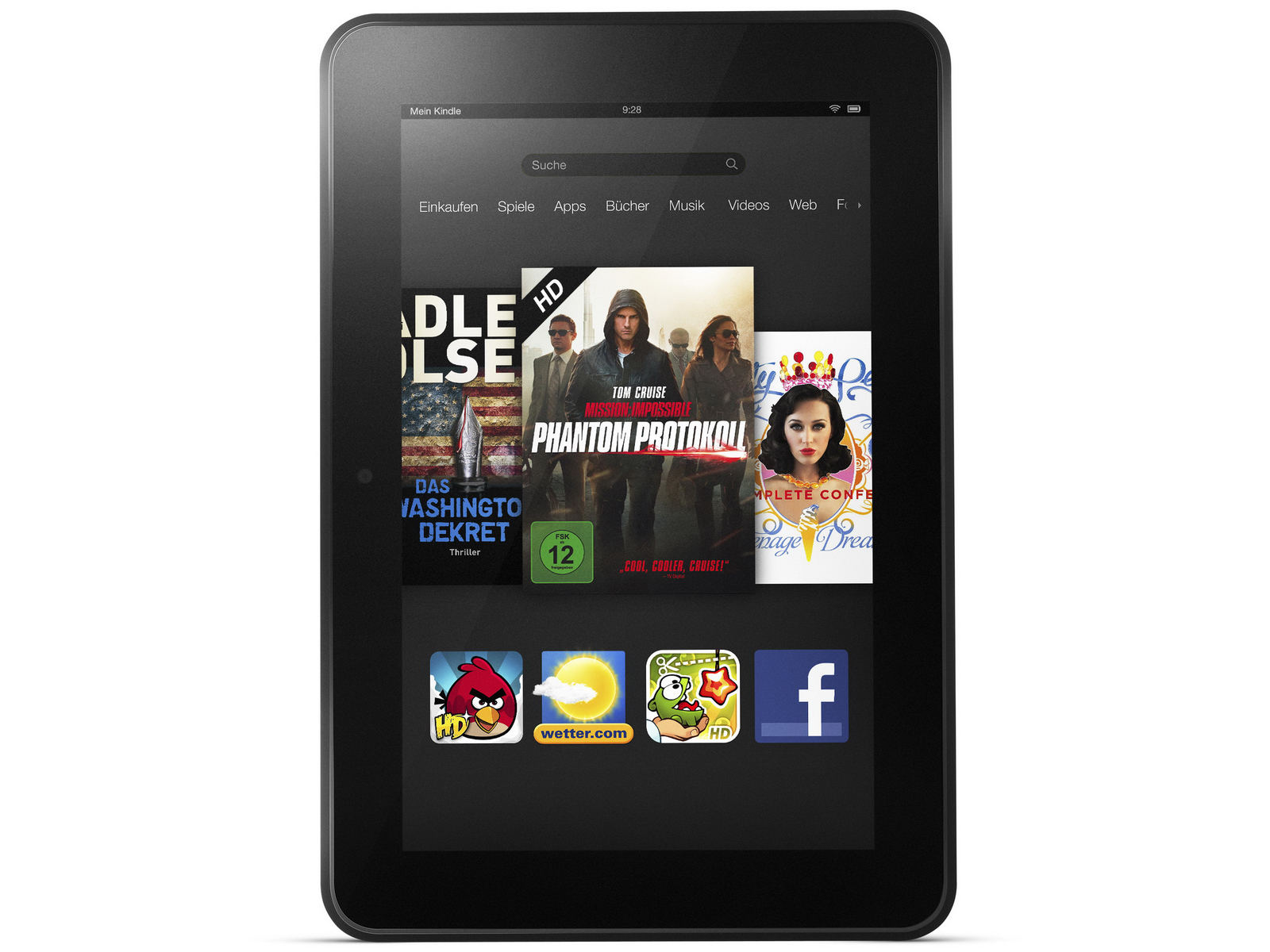 Amazon Kindle Fire HD - 16 GB